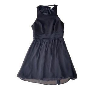 BCBGeneration Open Back Black Dress